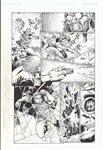 Action Comics 865 pg 15 Comic Art