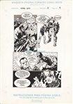 An�bal Gris 3 pg 4 Comic Art
