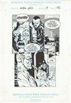 An�bal Gris 3 pg 22 Comic Art