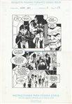 An�bal Gris 3 pg 23 Comic Art