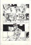 Bloody Winter pg 7 Comic Art