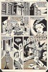 Captain America 279 pg 11 Comic Art