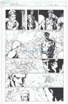 Captain America Prisoners of Duty 1 pg 3 Comic Art