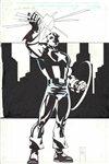 Captain America RWB A winter�s Tale 6 v2 Comic Art