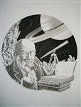 De la Terre � la Lune vol 3 Cover Comic Art