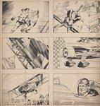 Flying Aces Comic Art