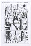 Green Arrow 14 pg 11 Comic Art