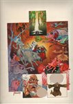 La Leyenda de las 4 Sombras pg 41 Comic Art