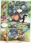 Lorna El Arka pg 13 Comic Art