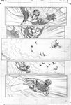 Skyman 4 pg 5 Comic Art
