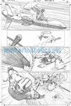 Skyman One Shot pg 15 Comic Art