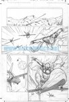 Skyman One Shot pg 14 Comic Art