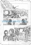 Skyman One Shot pg 2 Comic Art