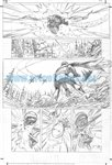 Skyman One Shot pg 16 Comic Art