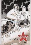 Sputchick signed print Comic Art