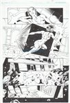 Supergirl Annual pg 16 Comic Art