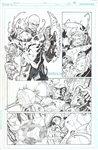 Superman & Batman Sorcerer Kings pg 6 Comic Art