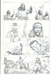 The Good, The Bad and the Ugly 6 pg 21 Comic Art