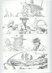 The Good, The Bad and the Ugly 4 pg 21 Comic Art