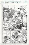 X-Man 26 pg 6 Comic Art