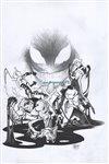 X-Men Blue Annual 1 cover Comic Art